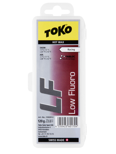 Toko LF Hot Wax 120g red
